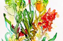 Monet Tulips