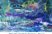 Monet's Garden – Card
