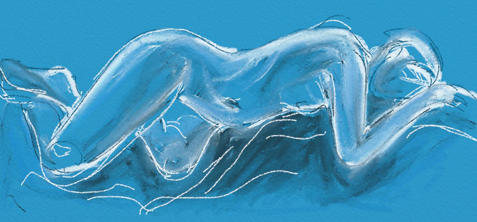 Resting Blue